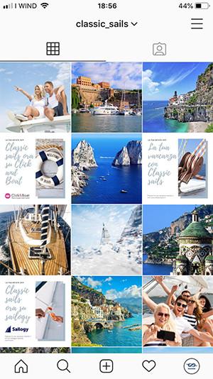 AerisLabs Gestione Social Media per Classic Sails