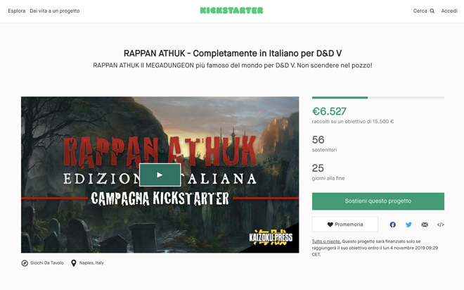 AerisLabs Gestione Campagne Kickstarter per Kaizoku Press