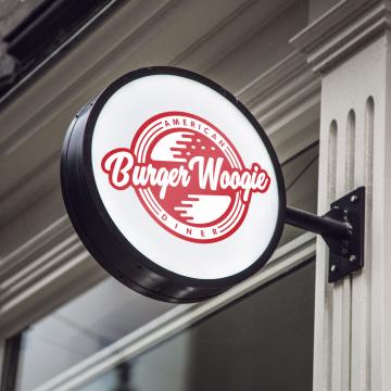 Burger Woogie Logo